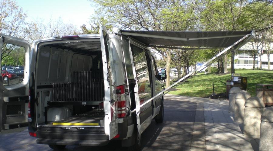 Safelite Auto Glass Van Conversion At Funtrail Vehicle